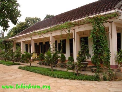 Tu viện Nguyên Thiều, nơi Ðức Tăng thống Th�ch Huyền Quang bị quản thúc